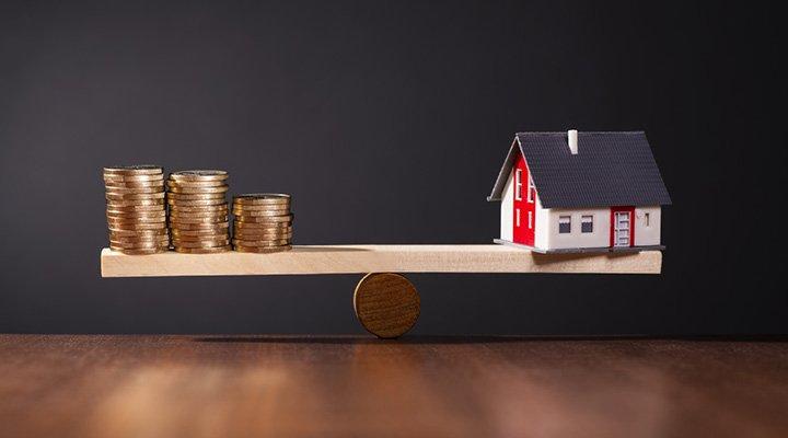 Sparen voor huis