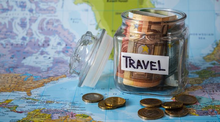 Sparen voor een wereldreis